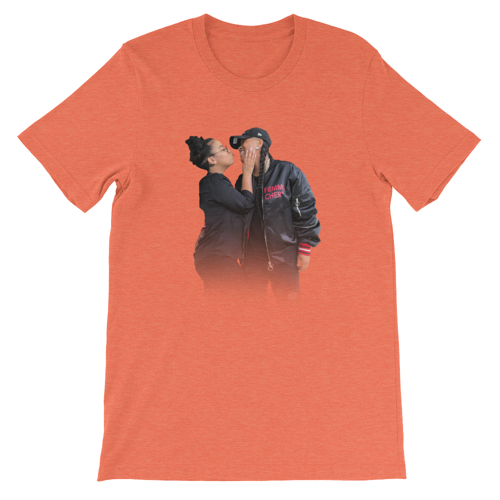 Domo & Crissy Faded Pic T-Shirt (Unisex)