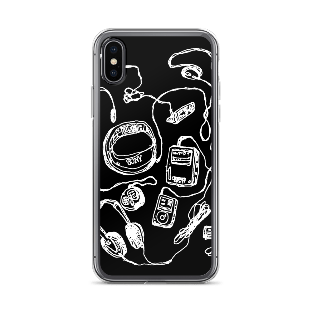 Weird Heat Portable Music iPhone Case