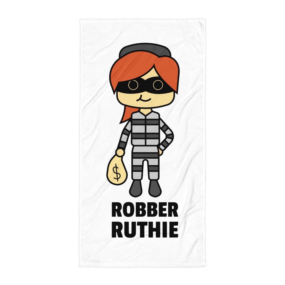 JackJackPlays Robber Ruthie Towel