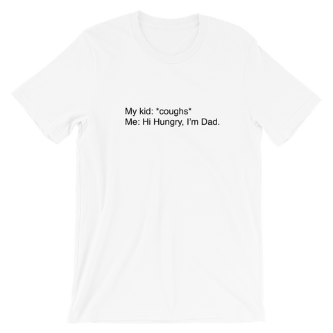 Dad joke Short-Sleeve Unisex T-Shirt
