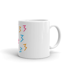 "McHusbands ""Abstract 3"" Colorful Mug"