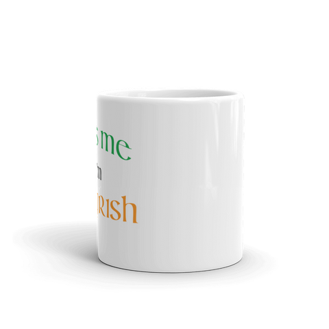 The TRY Channel Kiss Me I'm Trying Mug