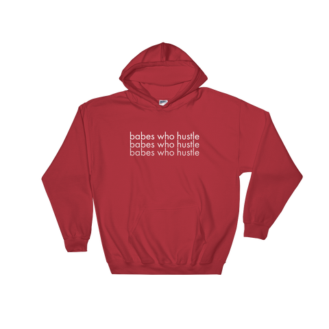 "Quincie & Candice ""Babes Who Hustle Hoodie"" (Unisex)"