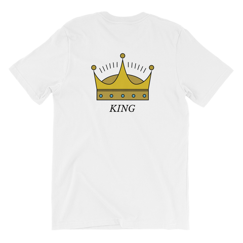 KING Crown Short-Sleeve Unisex T-Shirt
