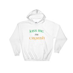 TRY Channel Kiss Me I'm Tryrish Hooded Sweatshirt (Multiple Colors)