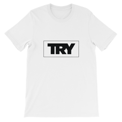 The TRY Channel Try Logo Short-Sleeve Unisex T-Shirt