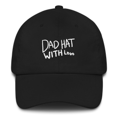 Anthony Padilla Dad Hat With Logo (Black)