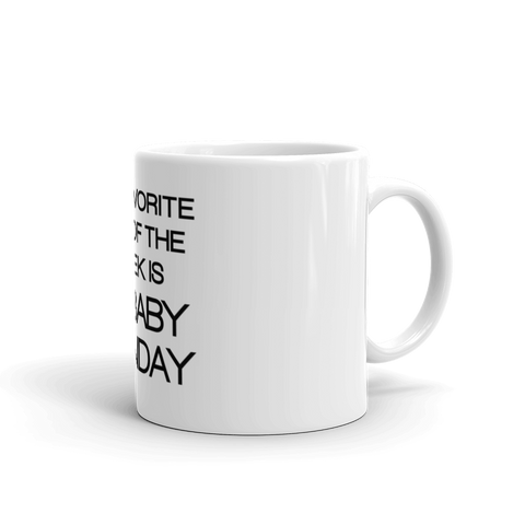 "McHusbands ""My Favorite Day"" Mug"
