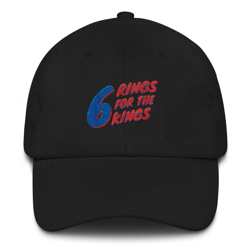 6 Rings for the Kings Dad hat (Multiple Colors)