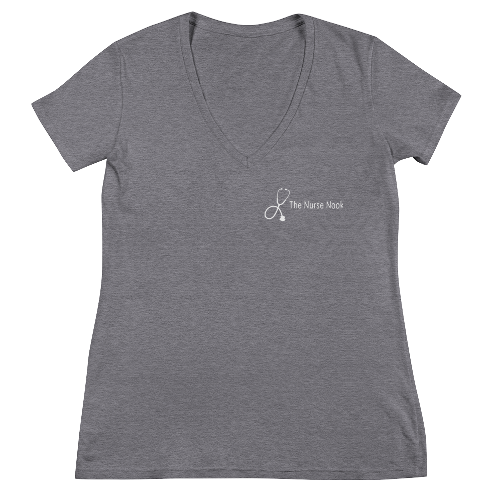 The Nurse Nook Signature V-Neck T-Shirt