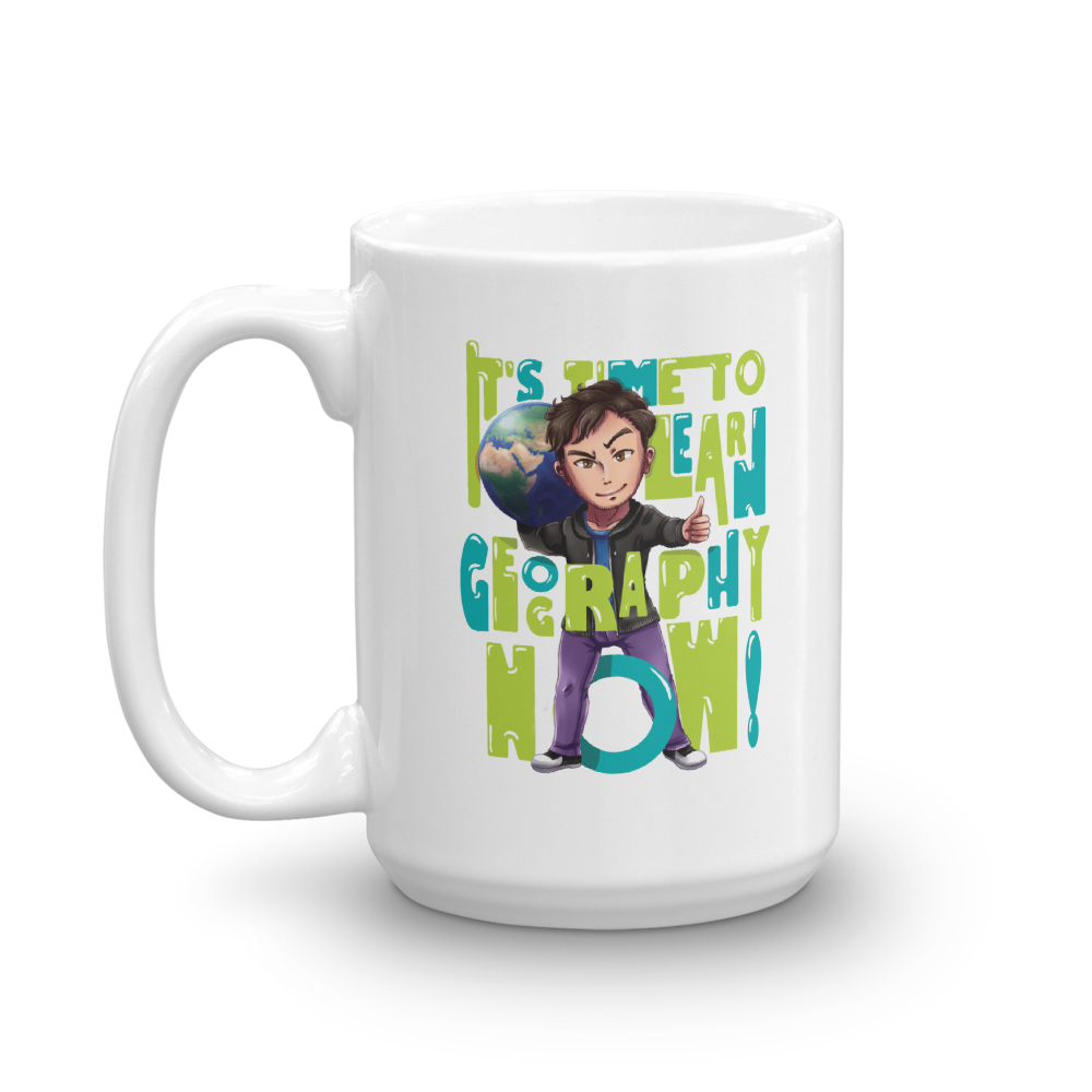 Geography Now Mug