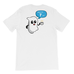 CJADES Ghost Short-Sleeve Unisex T-Shirt
