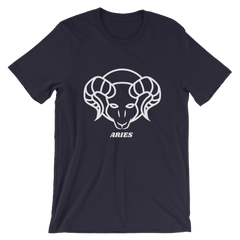 Aries Unisex Short Sleeve T-Shirt