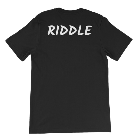 Jonah Riddle JR Two-sided Short-Sleeve Unisex T-Shirt