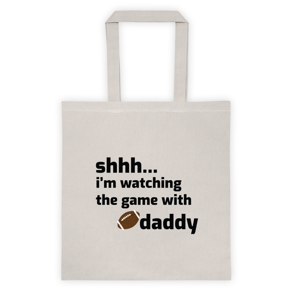 Watching the Game Tote Bag