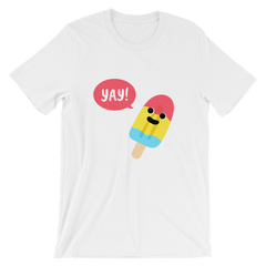 "McHusbands ""Yay For Popsicles!"" Short-Sleeve Unisex T-Shirt"