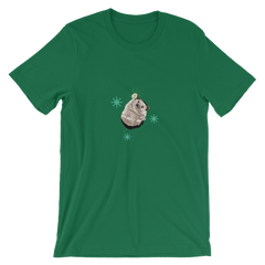 Taylor Nicole Dean Hedgehog Holiday Short-Sleeve Unisex T-Shirt