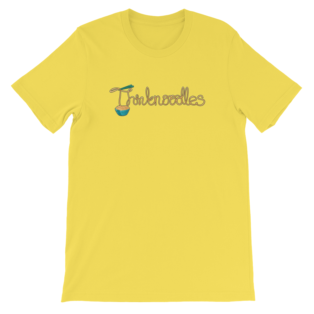 Thinknoodles Short-Sleeve Unisex T-Shirt