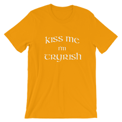 TRY Channel Kiss Me I'm Tryrish Short-Sleeve Unisex T-Shirt (Multiple Colors)