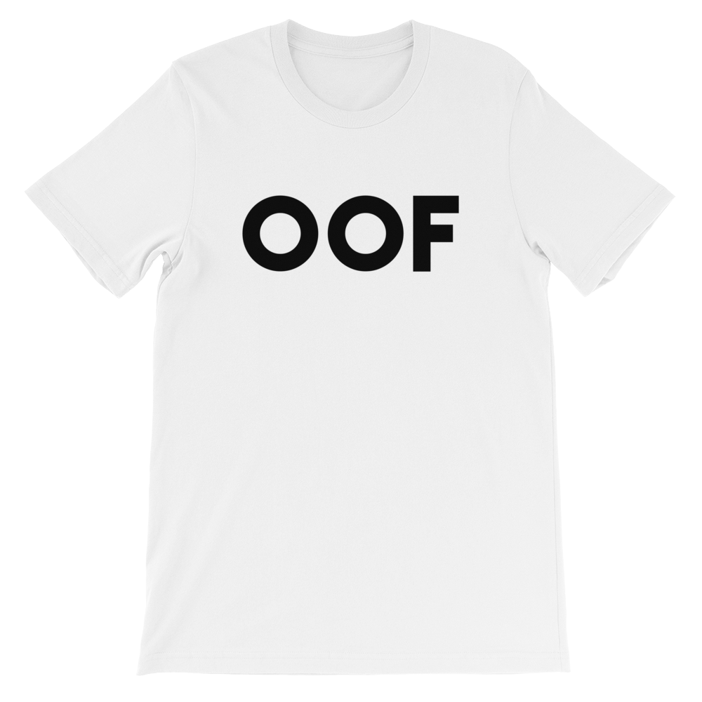 Ant OOF Adult White T-Shirt (Unisex)