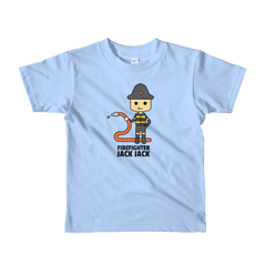JackJackPlays Firefighter Short Sleeve Youth t-shirt
