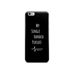 Kristie Sita My Single Handed Pursuit iPhone Case