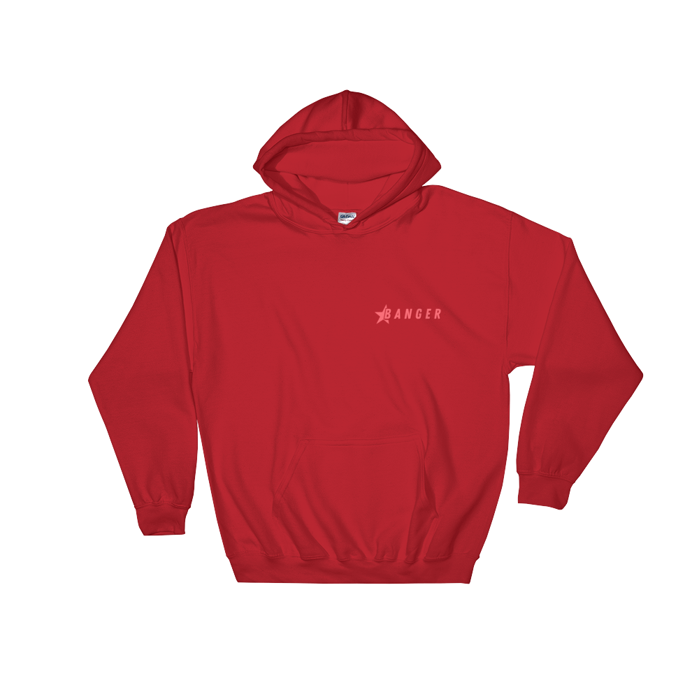 Jack Doherty Banger Red Hooded Sweatshirt
