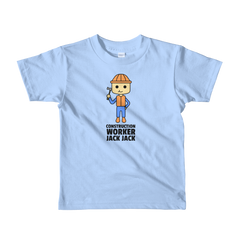 JackJackPlays Construction Short Youth t-shirt