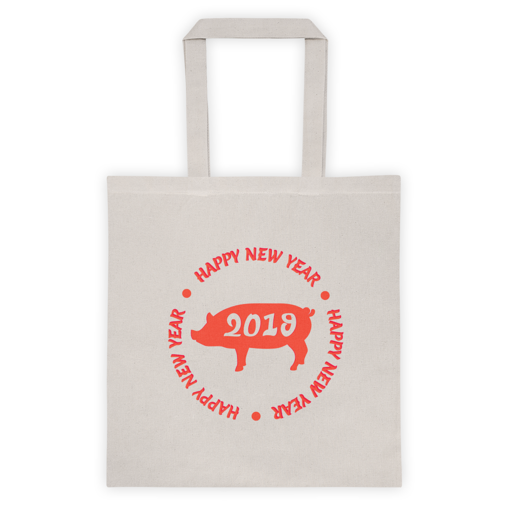 Happy New Year 2019 Tote bag