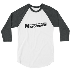The TRY Channel Mayonnaise 3/4 Sleeve Raglan T-Shirt