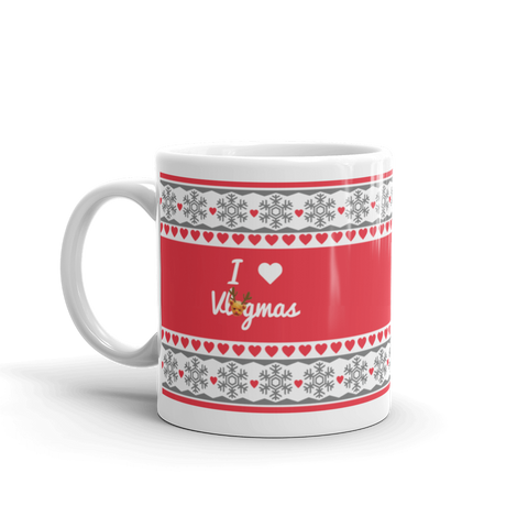 Taylor R Holiday Mug