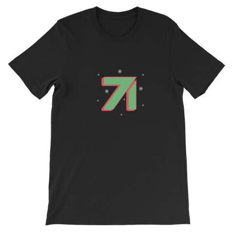 Studio71 Holiday Short-Sleeve Unisex T-Shirt