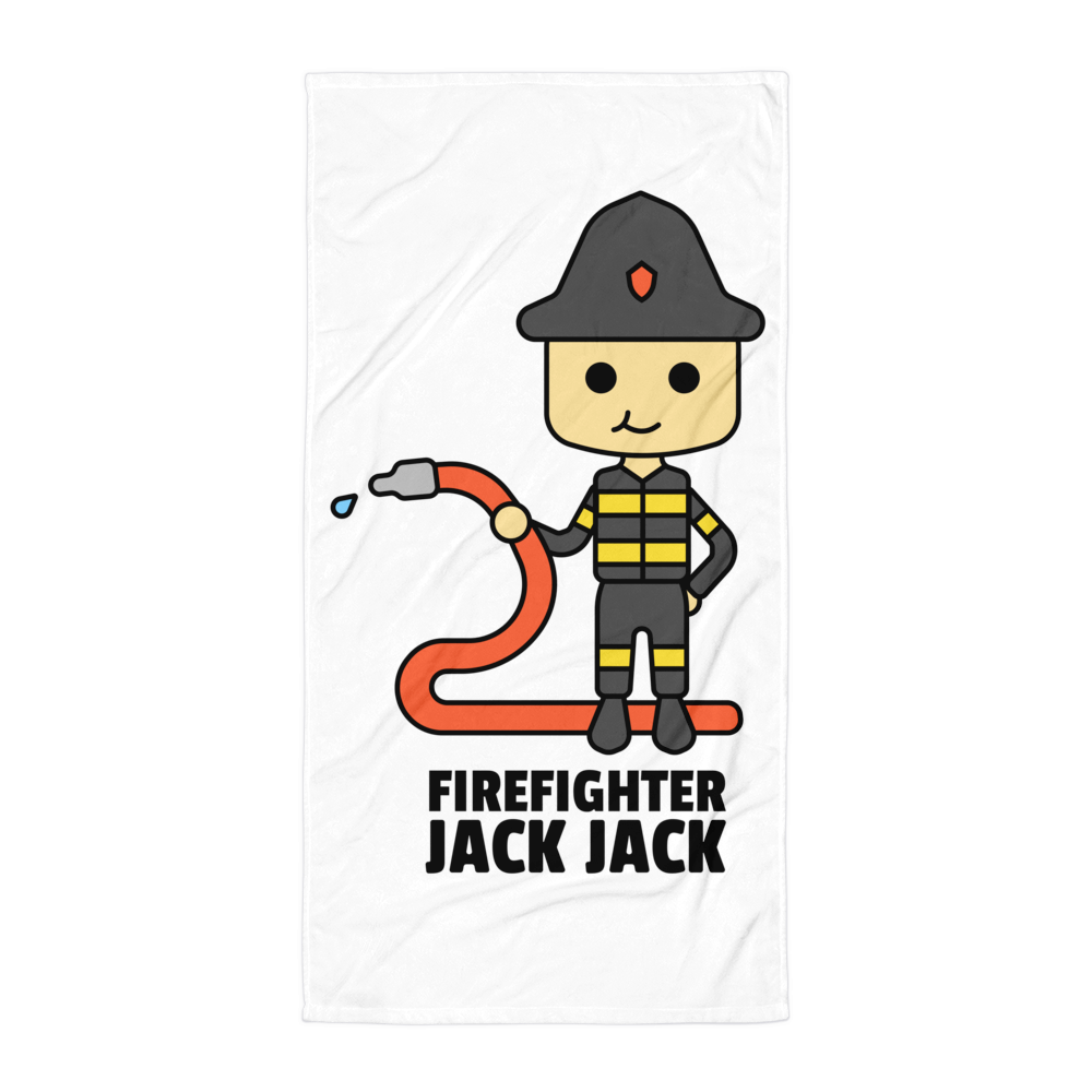 JackJackPlays Firefighter Towel