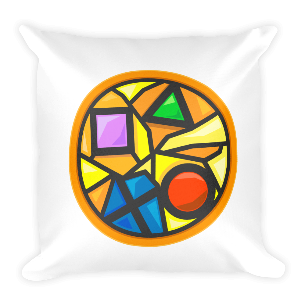 Colin's Last Stand Sacred Symbols Basic Pillow