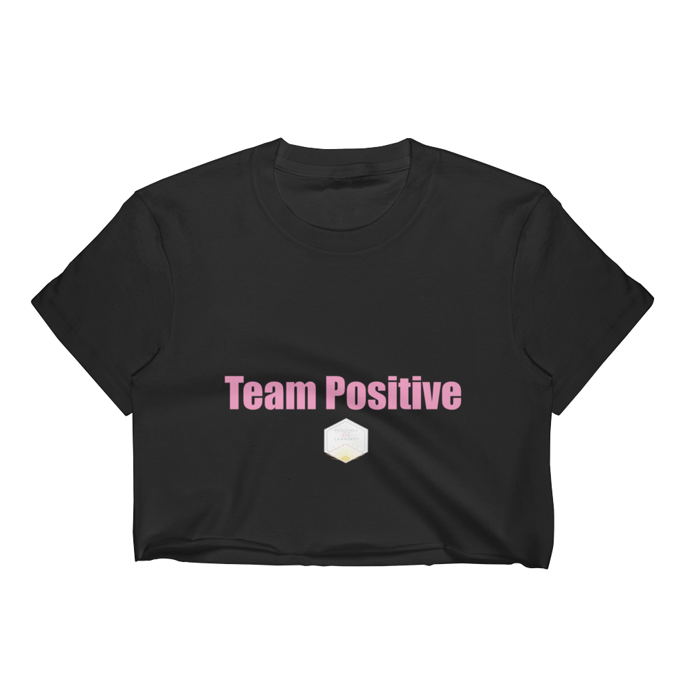 FitLittleMeg Team Positive Women's Crop Top (Multiple Colors)