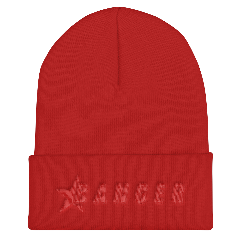 Jack Doherty Red Banger Cuffed Beanie