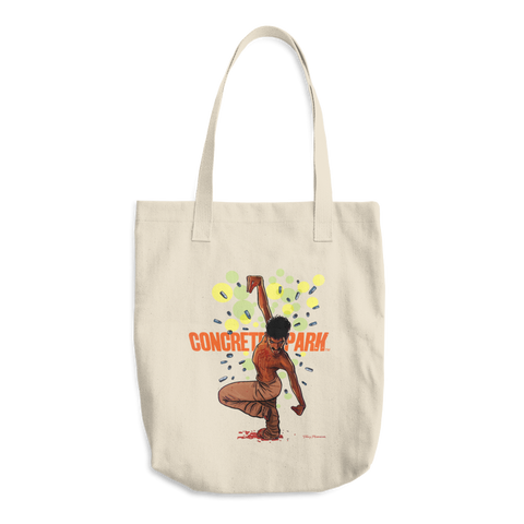 Concrete Park Fontaine Cotton Tote Bag