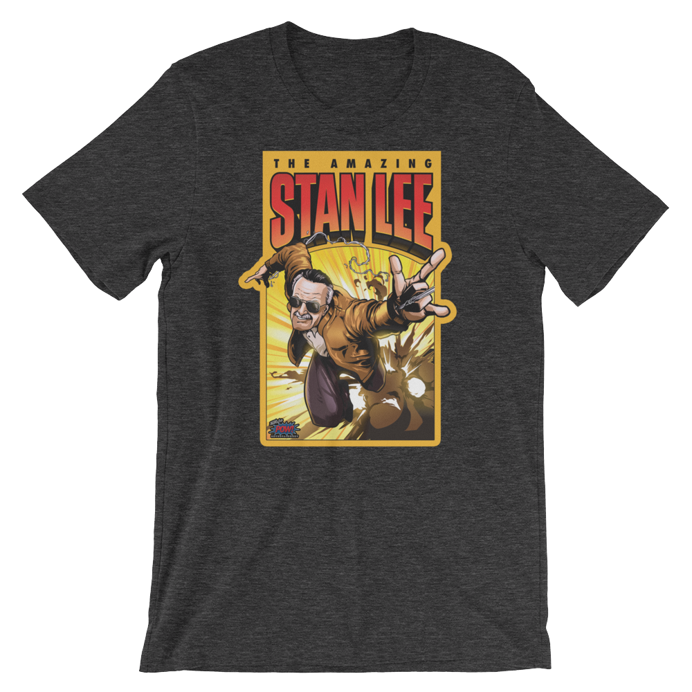 The Amazing Stan Lee Unisex T-Shirt (Multiple Colors)