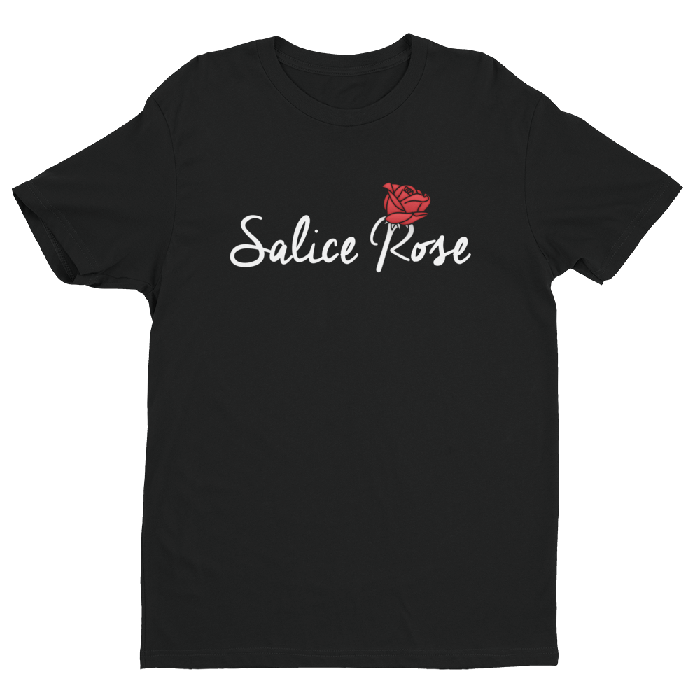 Salice Rose Black T-Shirt (Unisex)