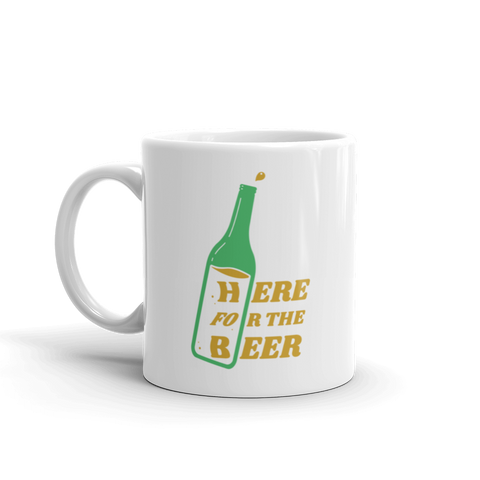 St.Patrick's Day Here for the Beer Mug (11oz)