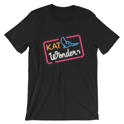 Kat Wonders Neon Bella + Canvas 3001 Unisex Short Sleeve T-Shirt