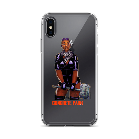 Concrete Park J.D. iPhone Case