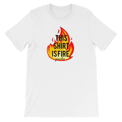 CJADES This Shirt Is Fire Short-Sleeve Unisex T-Shirt