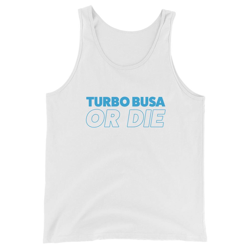 Yammie Noob Turbo Busa or Die Unisex Tank Top (Multiple Colors)