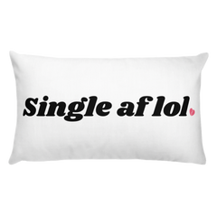 Single af Basic Pillow