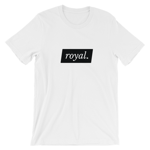 KING Royal Short-Sleeve Unisex T-Shirt