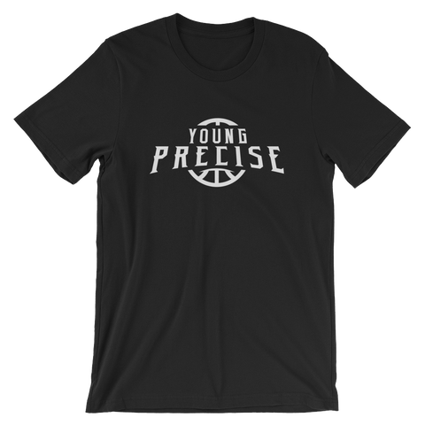 YoungPrecise Logo Bella + Canvas 3001 Unisex Short Sleeve T-Shirt (Multiple Colors)