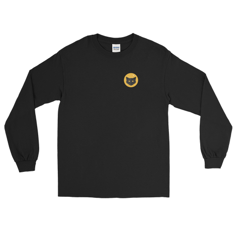 Black Cat Long Sleeve Unisex T-shirt