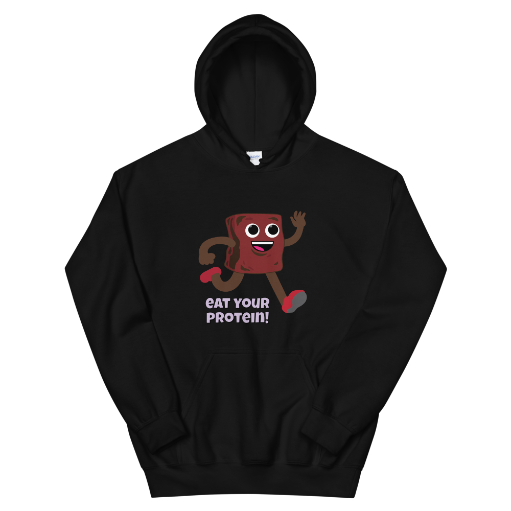 TRY Channel Eat Your Protein! Unisex Hoodie (Multiple Colors)