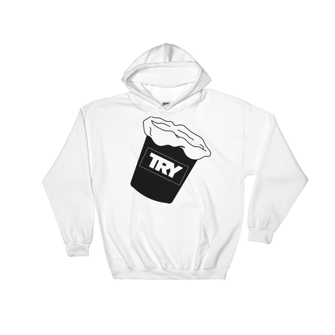 The TRY Channel Sick Bucket Hooded Sweatshirt
